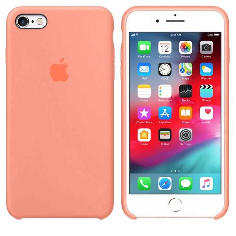 Чехол Silicone Case Original iPhone 7, 8, SE 2020 №42 (New pink)