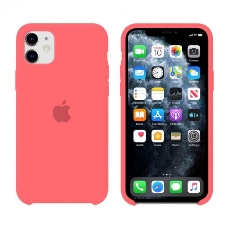Чехол Silicone Case Original iPhone 11 №39 (Cranberry)
