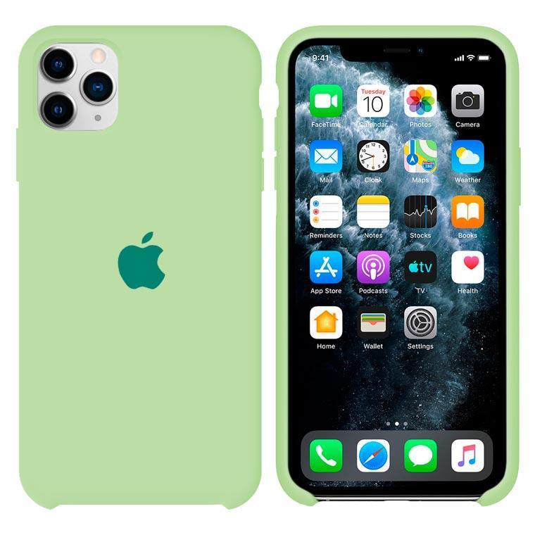 Чохол Silicone Case iPhone Original 11 Pro Max №64 (Avocado) (N61)