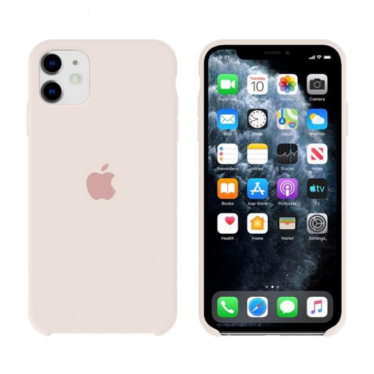 Чехол Silicone Case Original iPhone 12 Mini №11 (Antique white) (N10)