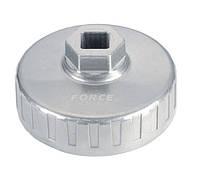 """Съемник масляного фильтра """"чашка"""" 76 мм, 12° (FORCE 6317612)"""