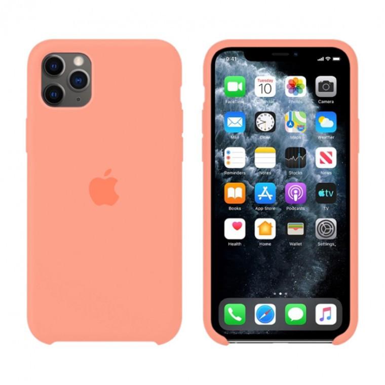 Чехол Silicone Case Original iPhone 11 Pro Max №42 (New pink)