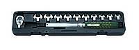 Ключ динамометрический со сменными насадками рожкового типа 13 пр. (10-60 Нм) (FORCE 64714)