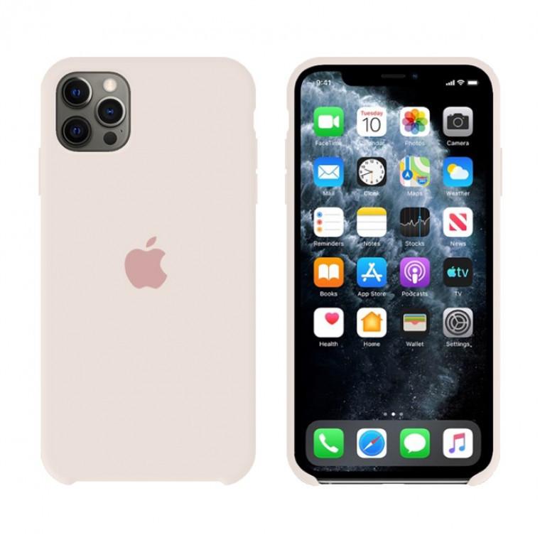 Чехол Silicone Case Original iPhone 12 Pro Max №11 (Antique white) (N10)