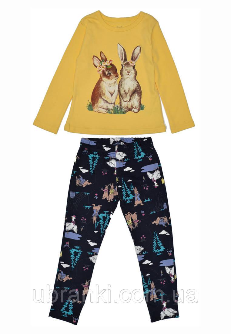 Пижама для девочки(штанишки, кофточка)