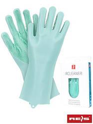 Захисні гумові рукавички