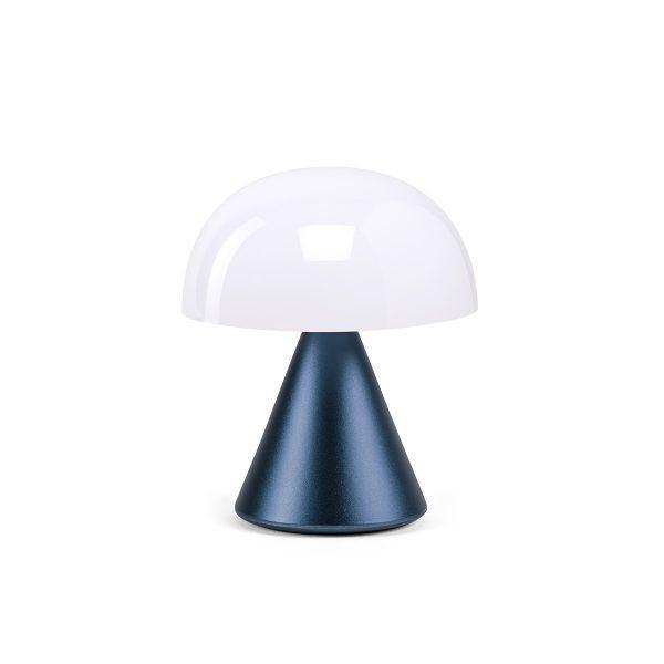 Міні світлодіодна лампа Lexon MINA, 8,3 х 7,7 см, темно-синій