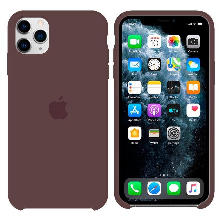 Чохол Silicone Case iPhone Original 12, 12 Pro №22 (Cocoa) (N22)