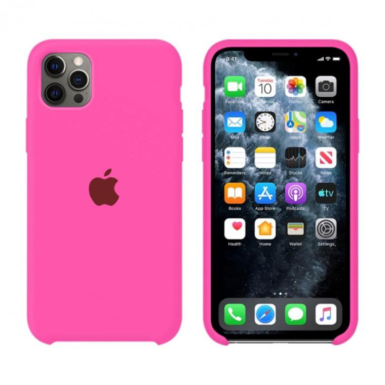 Чехол Silicone Case Original iPhone 12, 12 Pro №47 (Firefly) (N38)