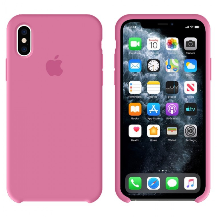 Чехол Silicone Case Original iPhone XS Max №60 (Pomegranate)