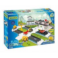 Игровой набор Wader Kid Cars 3D аэропорт (53350)