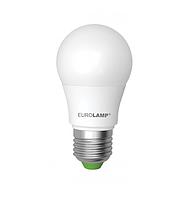 Лампа светодиодная EUROLAMP LED А50 7W E27 4000K 550 Lm