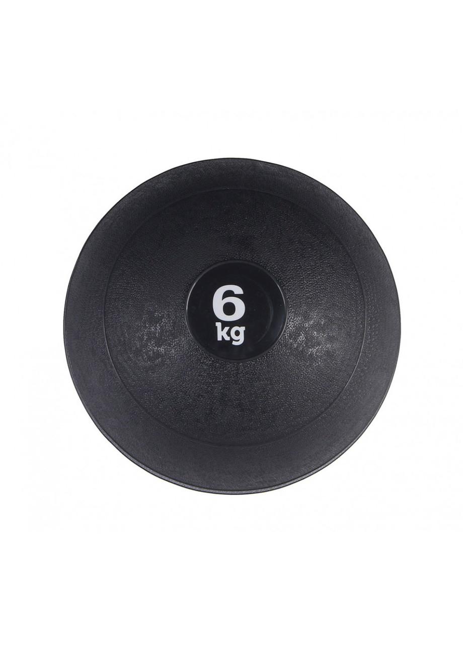 Слембол (медичний м'яч) для кроссфита SportVida Slam Ball 6 кг SV-HK0060 Black