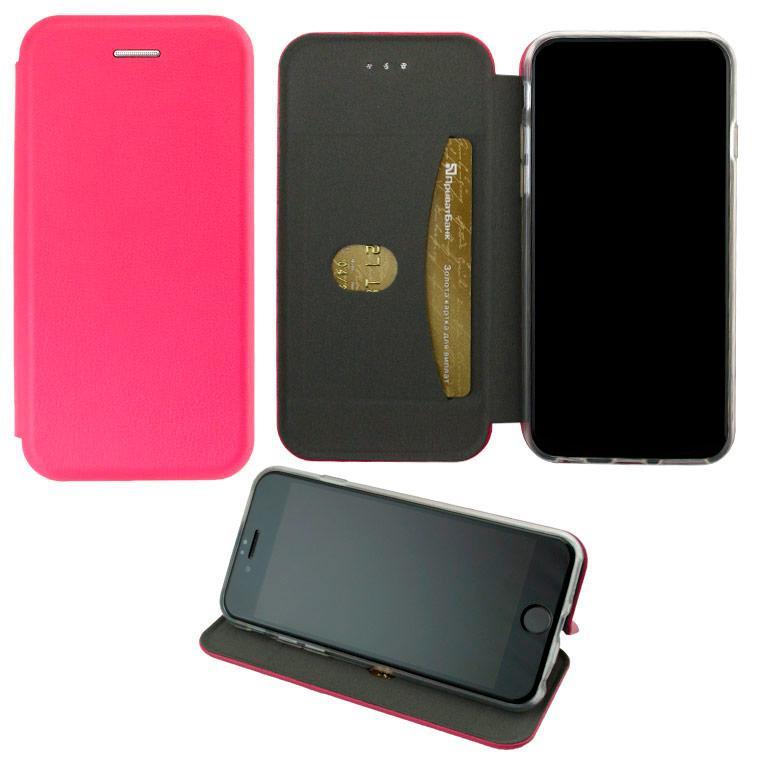 Чохол-книжка Elite Case Apple iPhone X, XS рожевий