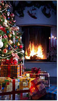 Обогреватель-картина инфракрасный настенный ТРИО 400W 100 х 57 см, Новый год (010024)