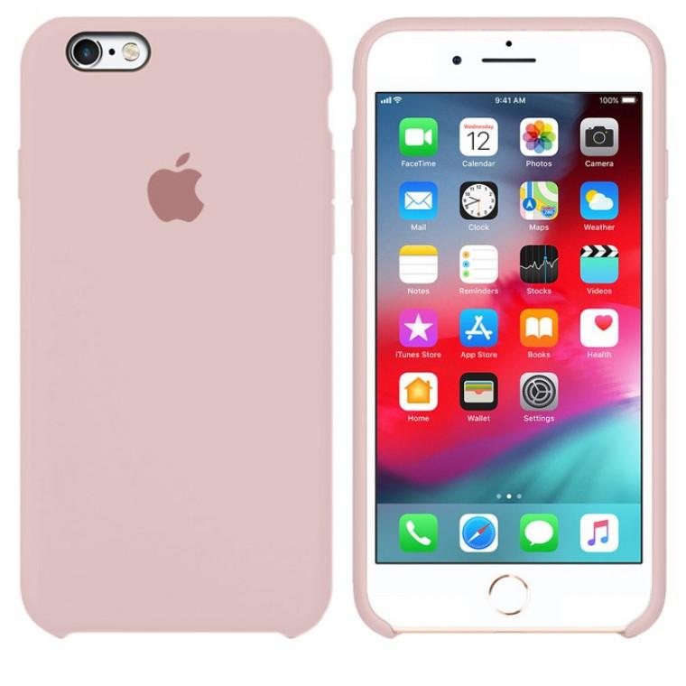 Чохол Silicone Case iPhone Original 6, 6S №19 (Silt) (N19)