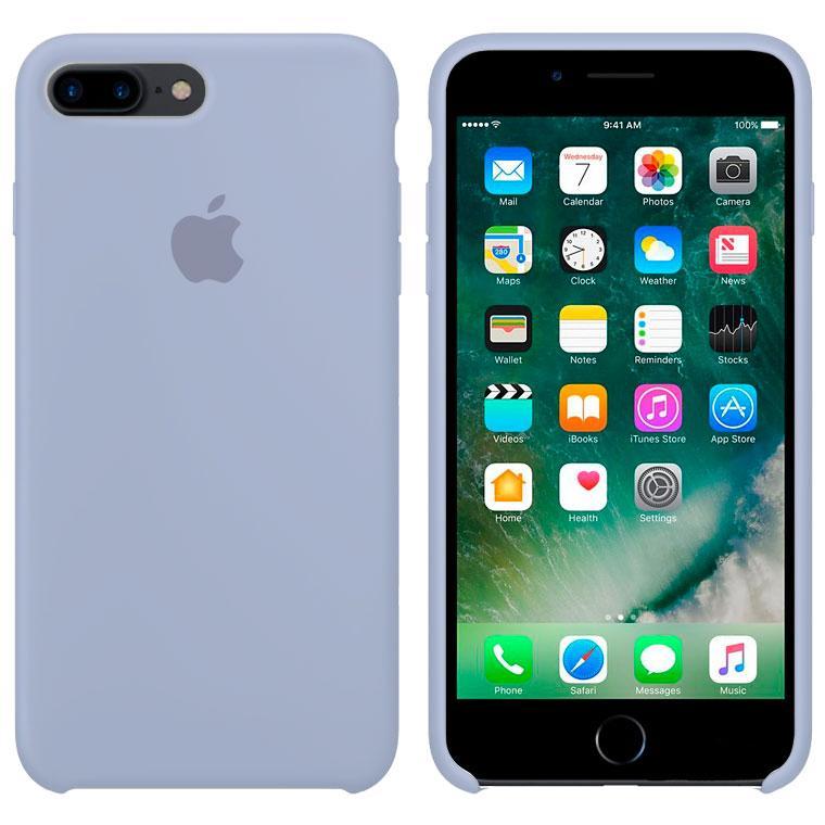 Чехол Silicone Case Original iPhone 7 Plus, 8 Plus № 5 (Lilac) (N05)