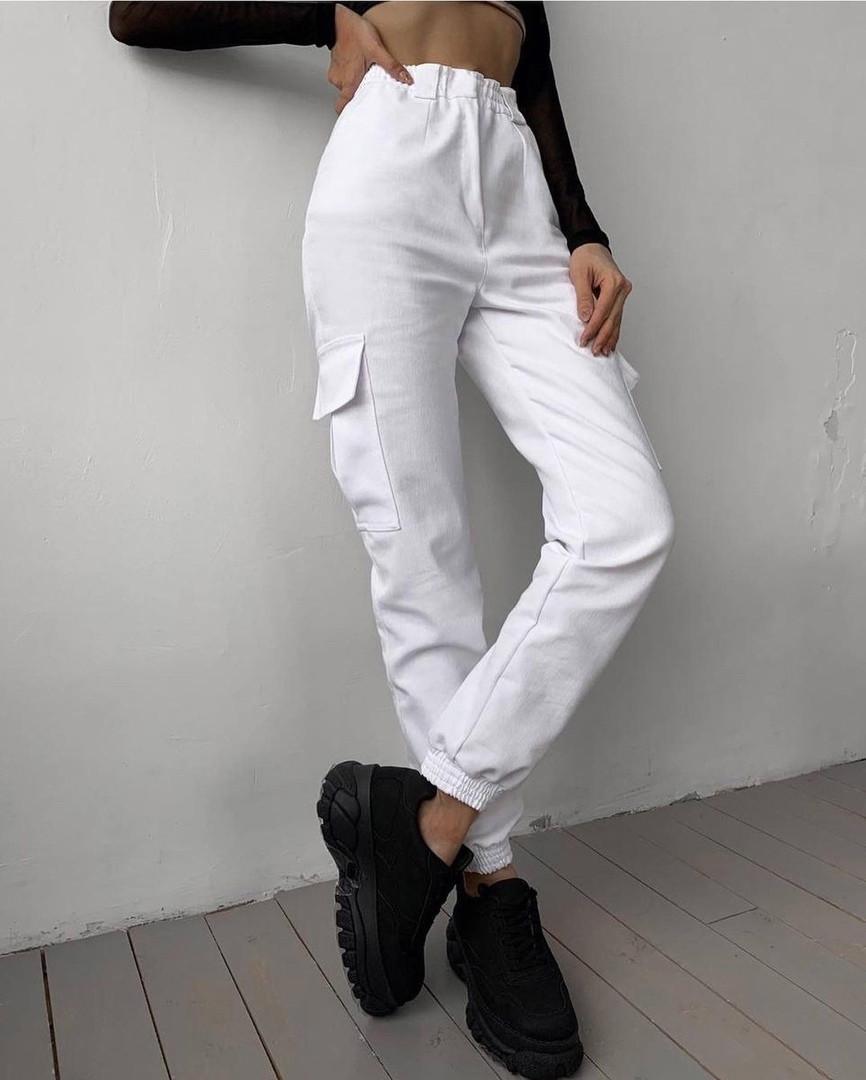 Жіночі джинси карго