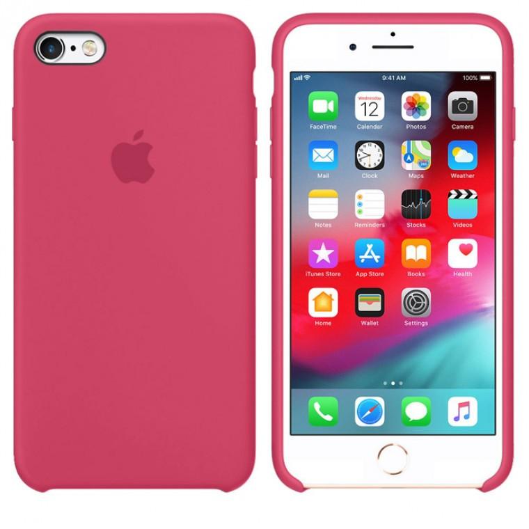 Чохол Silicone Case iPhone Original 7, 8, SE 2020 №36 (Rose Red) (N37)