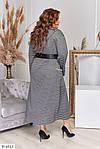 Жіноче плаття в смужку (Батал), фото 2