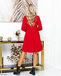 Вельветовое красное платье, фото 2