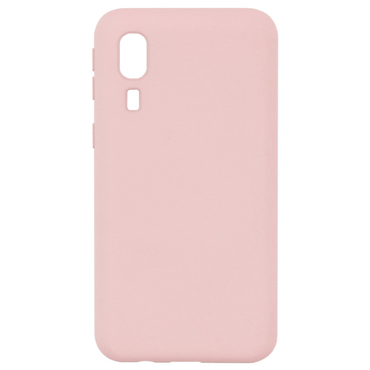 Чохол Silicone Cover Full Samsung A2 Core A260 рожевий