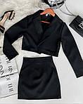 Костюм двійка спідниця і укорочений піджак, фото 3