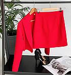 Костюм двійка спідниця і укорочений піджак, фото 6