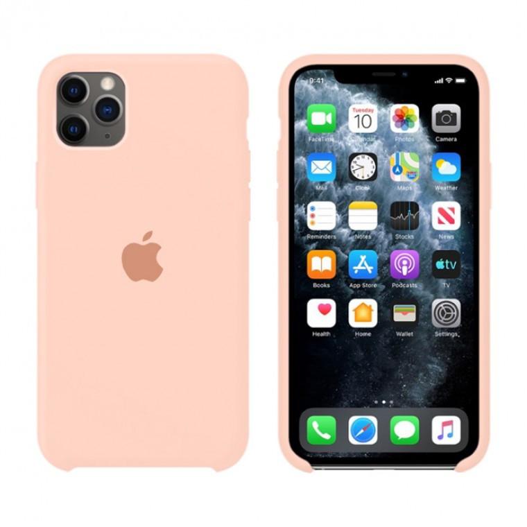 Чехол Silicone Case Original iPhone 11 Pro №62 (Grapefruit) (N67)