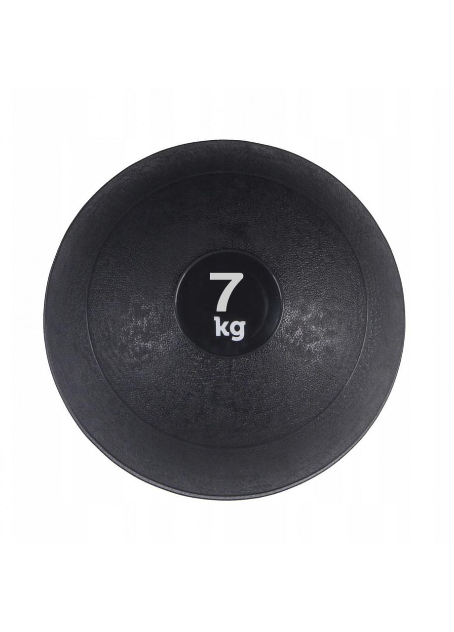 Слембол (медичний м'яч) для кроссфита SportVida Slam Ball 7 кг SV-HK0198 Black