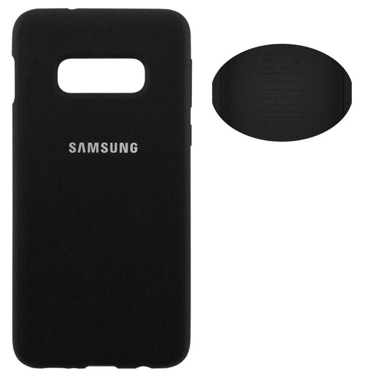 Чехол Silicone Cover Full Samsung S10E G970 черный