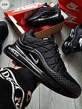 Чоловічі кросівки Nike Air Max 720-818 (чорні) легкі стильні кроси 275TP