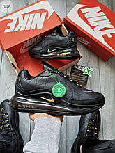 Чоловічі кросівки Nike Air Max 720-818 (чорні) легкі молодіжні кроси 718TP