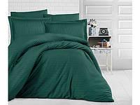 Постельное белье Aran CLASY Евро Темно-зеленый (1005952)
