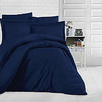 Постельное белье Aran CLASY Евро Темно-синий (1005957)