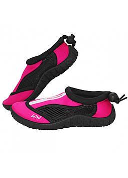 Обувь для пляжа и кораллов (аквашузы) SportVida SV-GY0001-R33 Size 33 Black/Pink