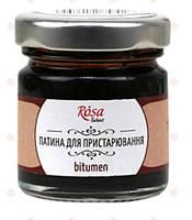 Патина Bitumen для состаривания ROSA Talent