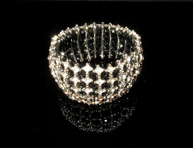 Браслет серебристые ячейки, фото 1