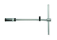 """3/8"""" Ключ свечной Т-обр. с карданом 16 мм, L=300 мм (шарнир. фиксация) (FORCE 807330016UM)"""
