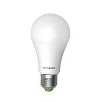 Лампа светодиодная EUROLAMP LED А60 12W E27 4000K 1100 Lm
