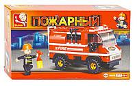 """Конструктор """"Пожарный""""  ТМ Sluban арт. 0276"""