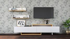 Мебель для гостиной Орландо 1 дуб артизан/белый, Світ меблів
