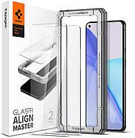 Защитное стекло Spigen для Oneplus 9 (5G) - ALIGNmaster (2 шт), Clear (AGL02895)