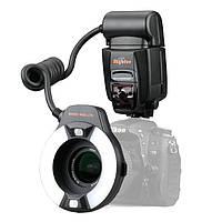 Автоматическая кольцевая макро вспышка E-TTL для Canon (MK-14EXM)