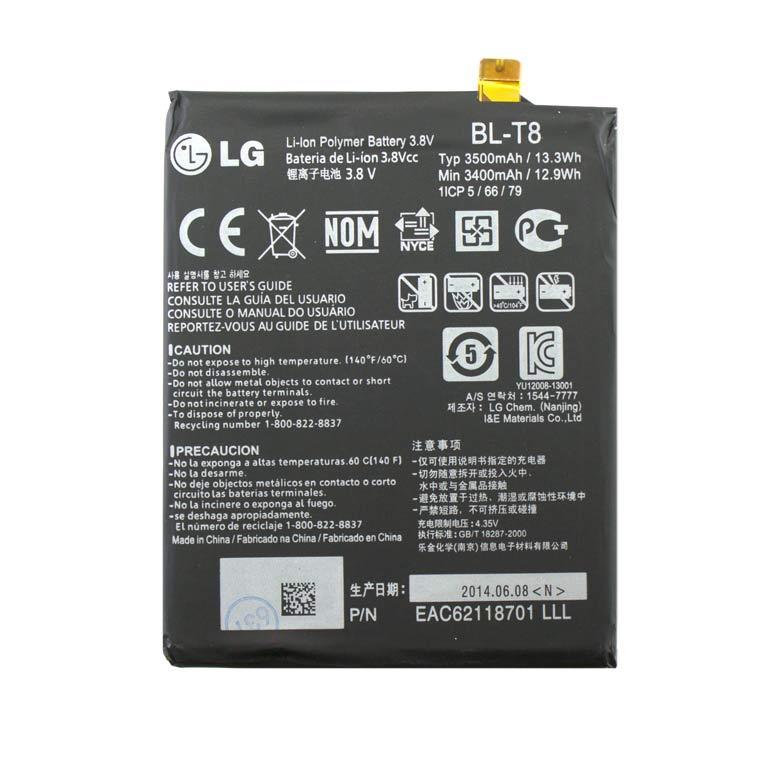 Акумулятор LG BL-T8 3500 mAh G Flex D955, G Flex D958 AAAA/Original тех. пакет