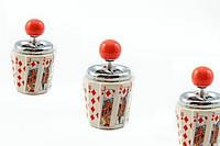 Подарок для мужчины — Пепельница Карты Буби, пепельница колода карт