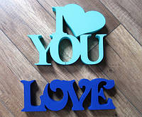 I love you + LOVE