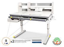 Mealux Montreal Multicolor (белый) | Детский растущий стол трансформер, фото 2