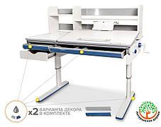 Mealux Montreal Multicolor (белый) | Детский растущий стол трансформер, фото 3