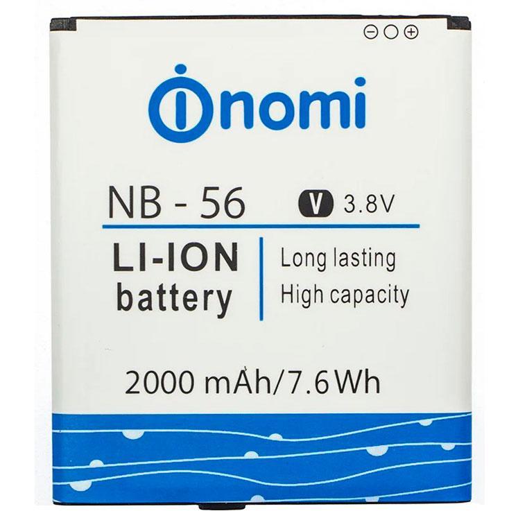 Аккумулятор NOMI NB-56 для i503 2000 mAh AAAA/Original тех.пакет